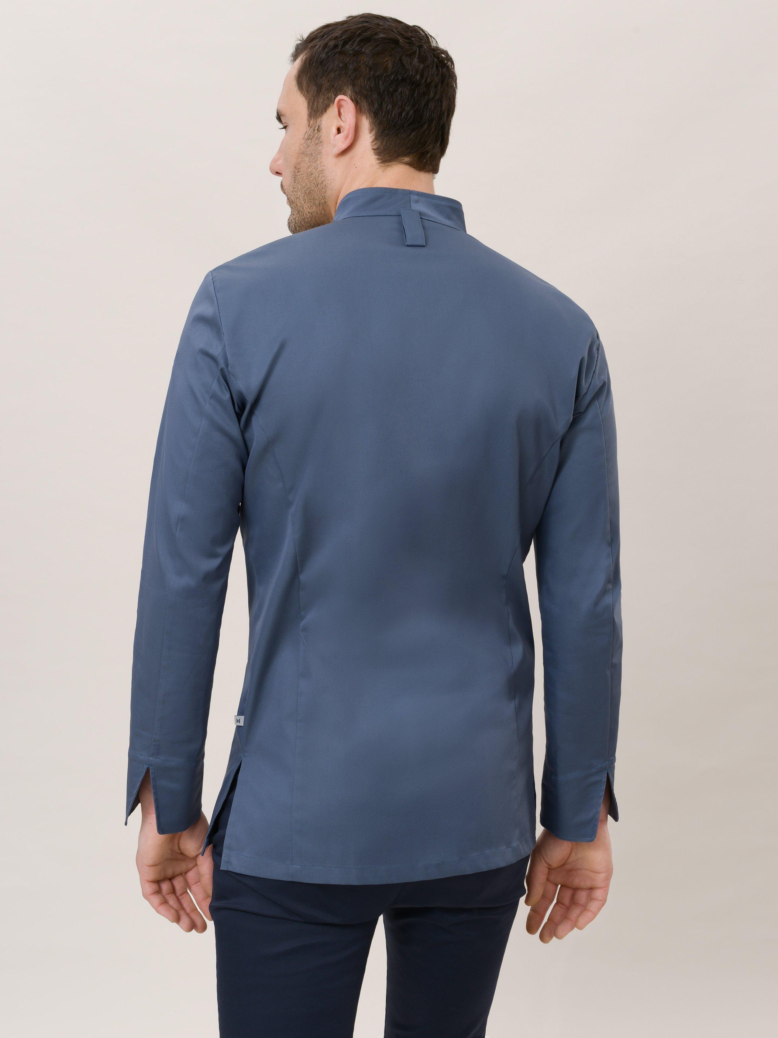 Chef Jacket Savio Steel Blue