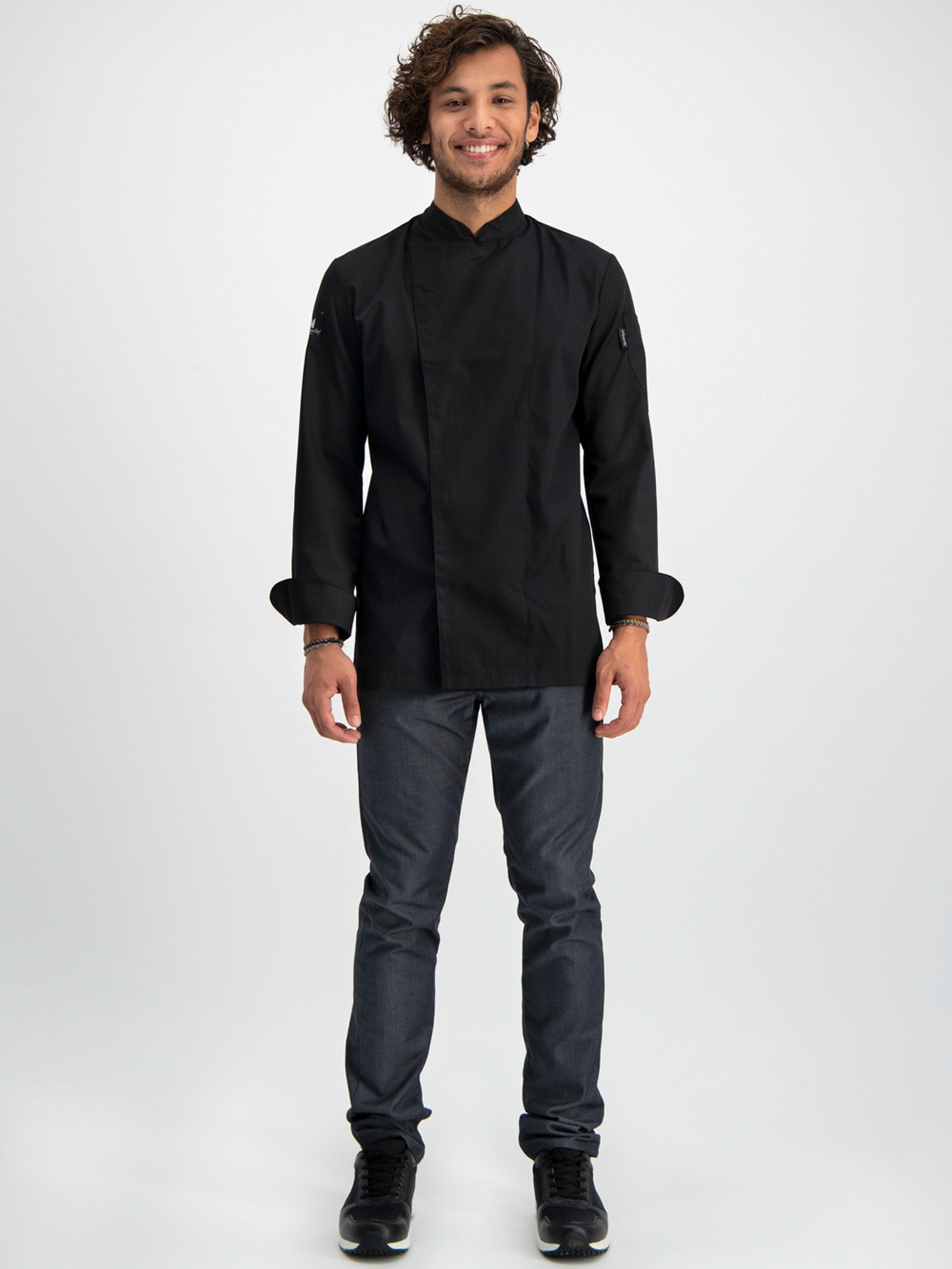 Chef Jacket Basix 1 Black