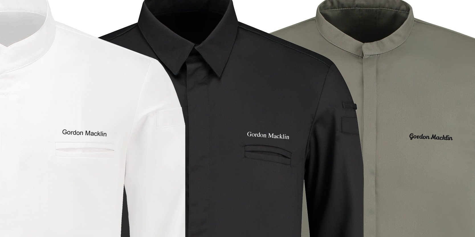 Personalize your chef jacket