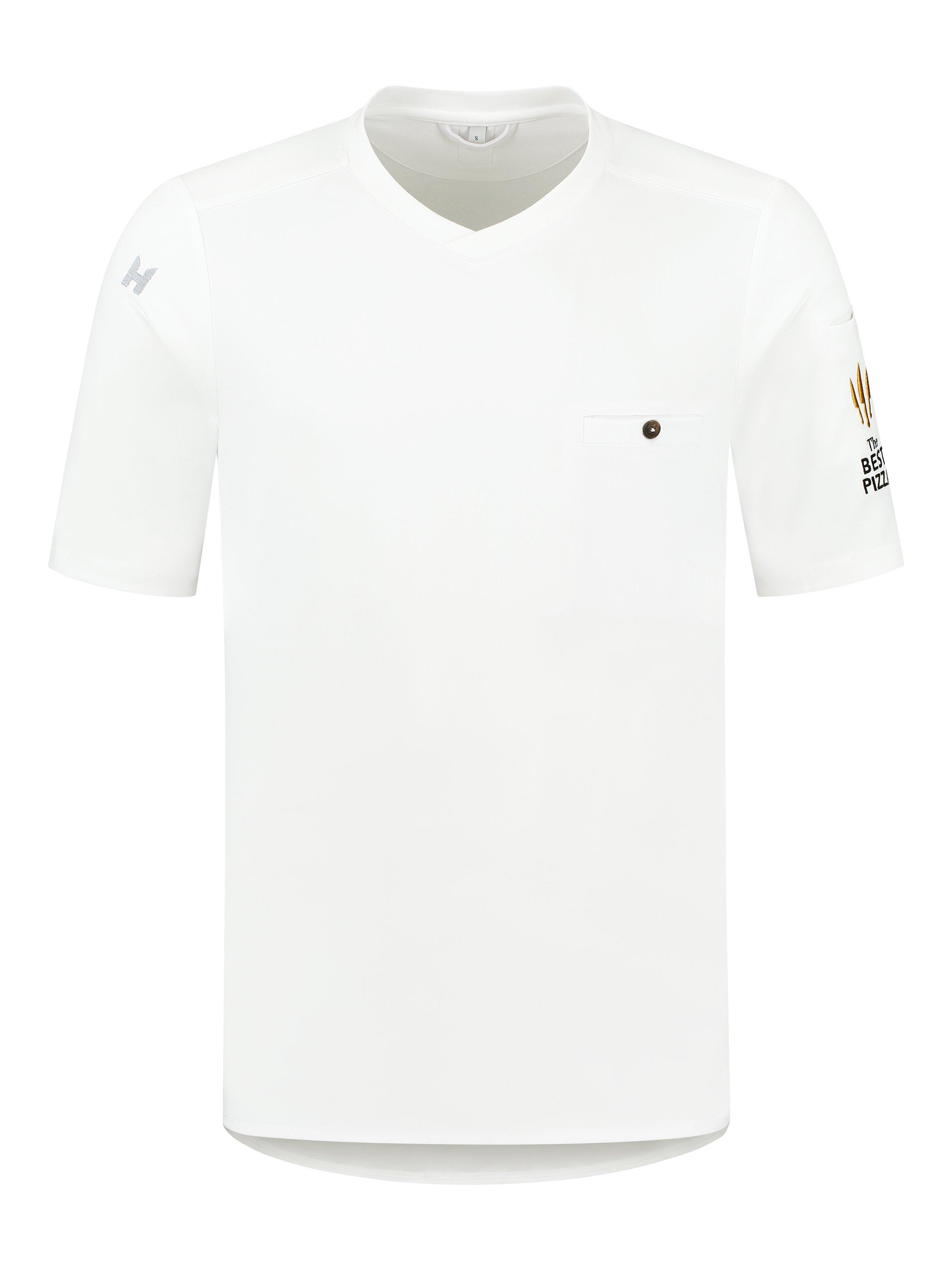 T-Shirt The Best Pizza Ferre White