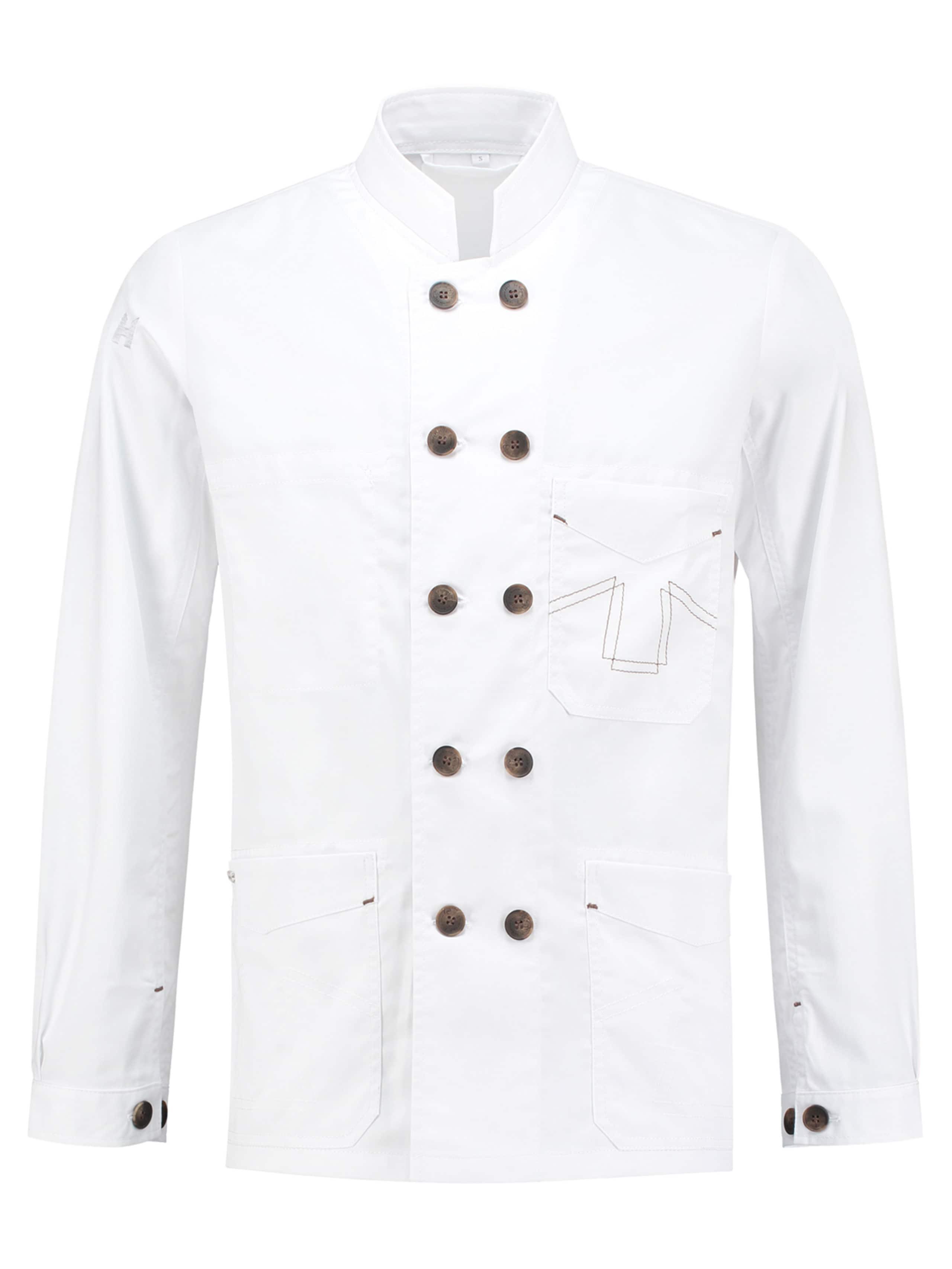 Chef Jacket Double B White