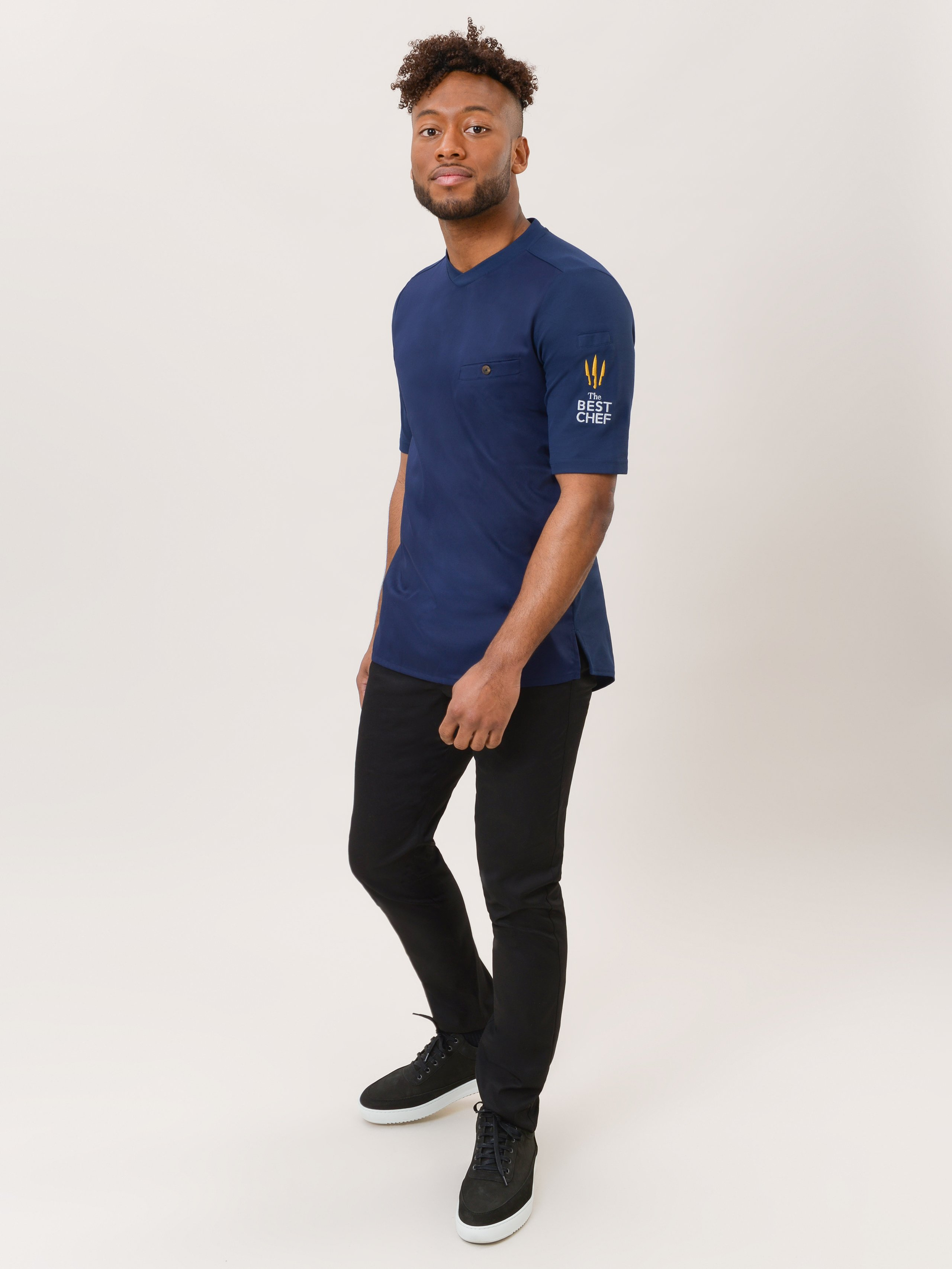 Chef Jacket The Best Chef Ferre Patriot Blue