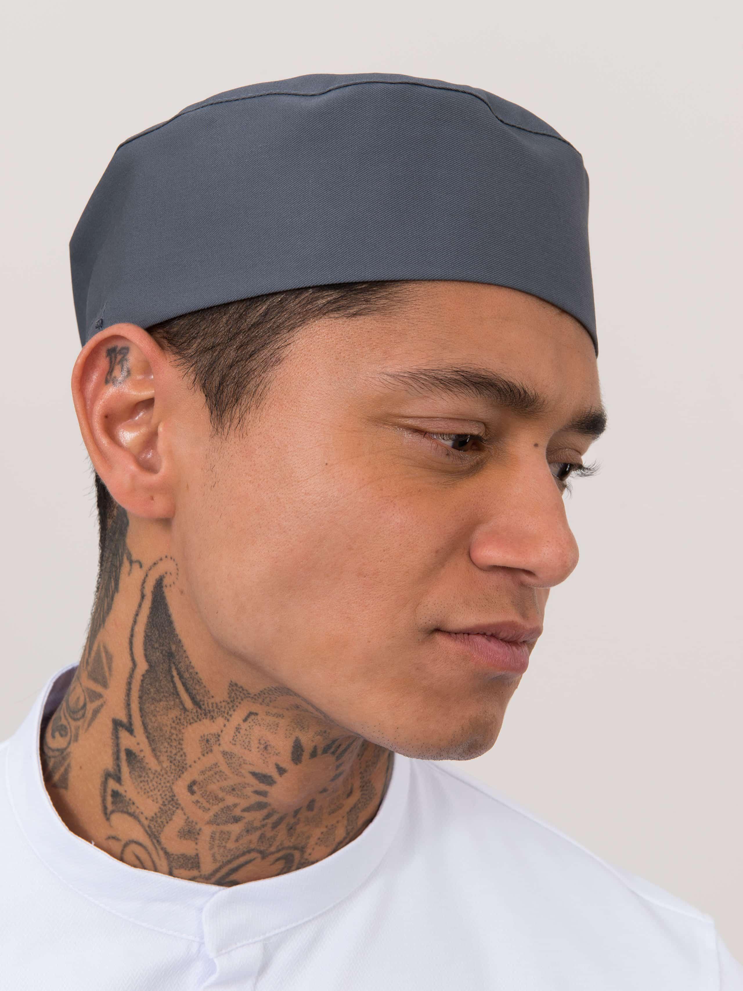 Chef Hat Fez Nimbus Grey