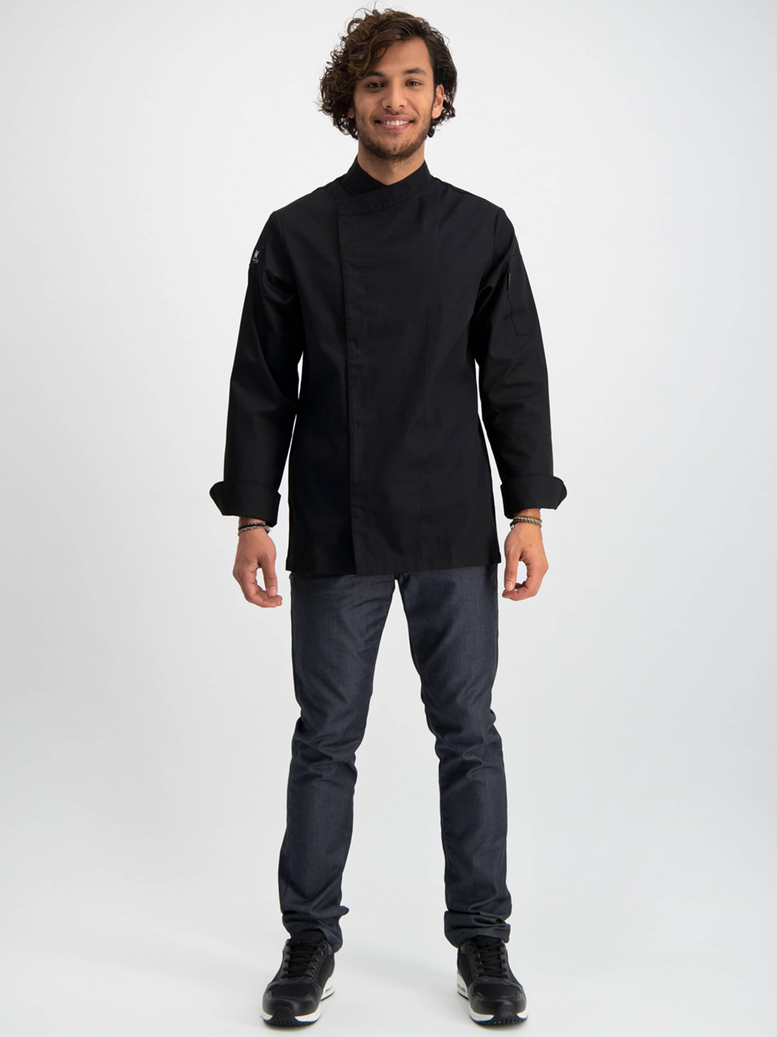 Chef Jacket Basix 4 Black