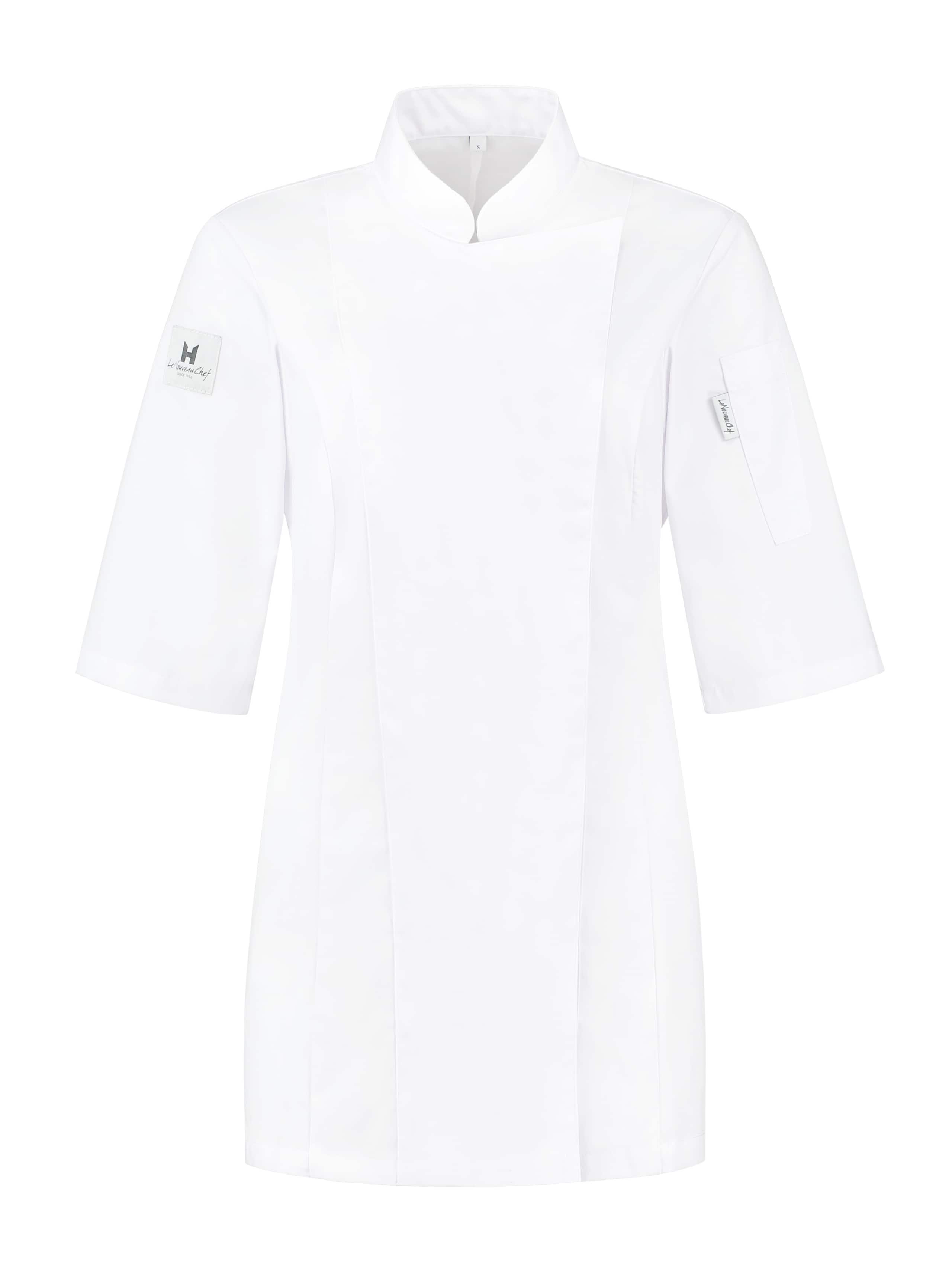 Chef Jacket Ladies Basix Short Sleeve White